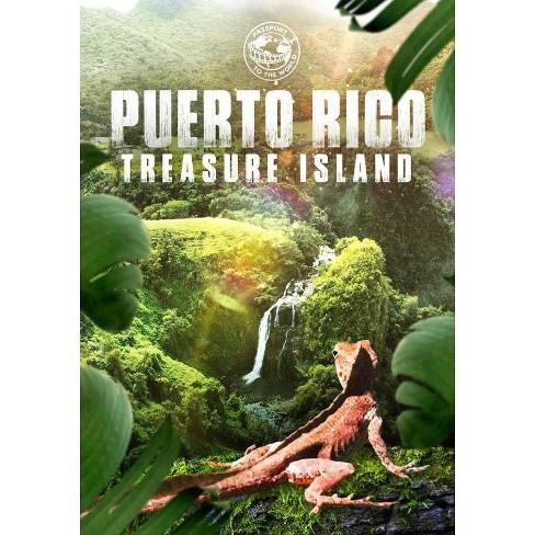 Puerto Rico: Treasure Island (DVD) - image 1 of 1