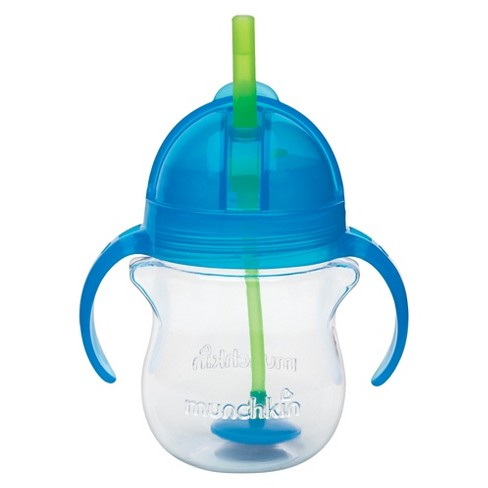 Munchkin 7oz Weighted Straw Sippy Cup - image 1 of 6