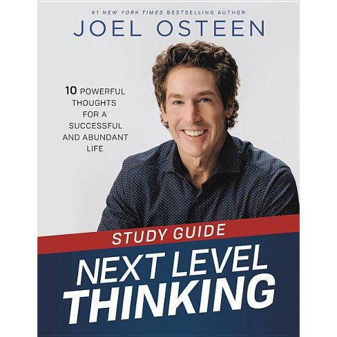 Next Level Thinking Study Guide - by Joel Osteen (Paperback)