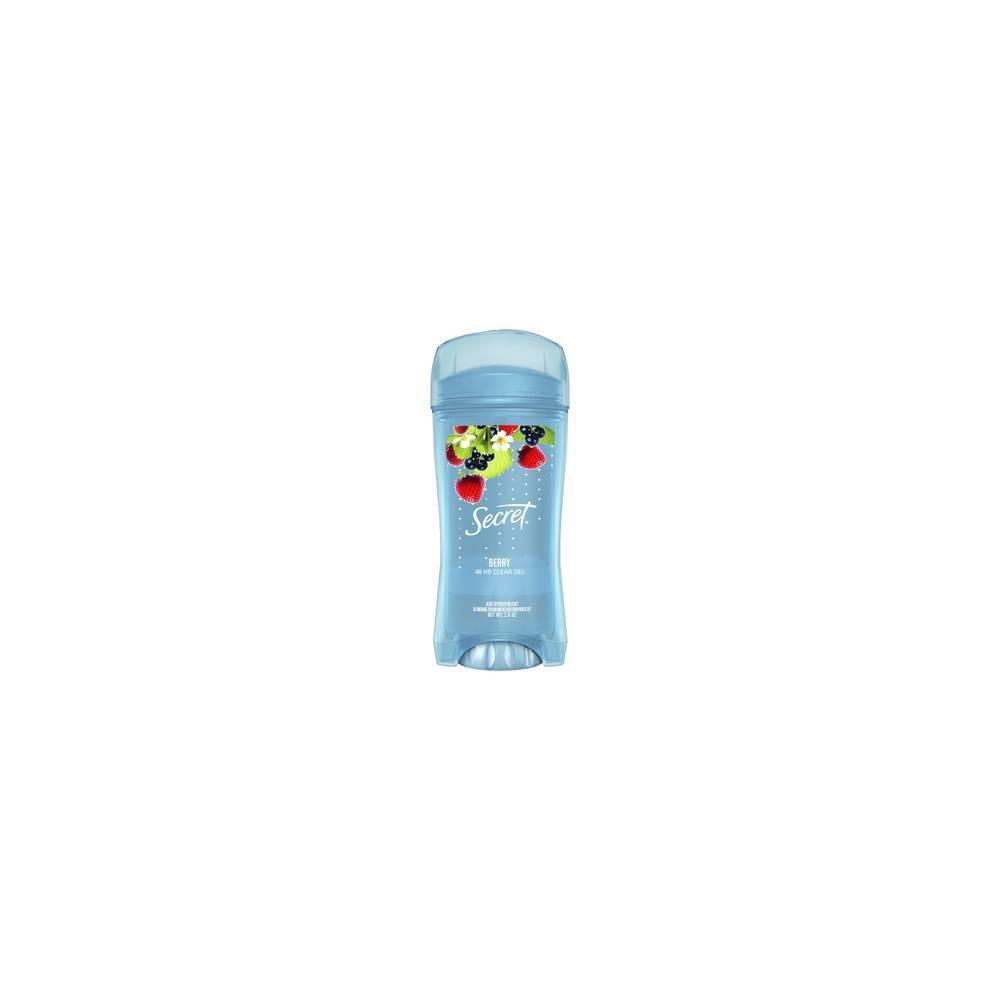 Image of Secret Fresh Antiperspirant Deodorant Clear Gel Summer Berry - 2.6oz