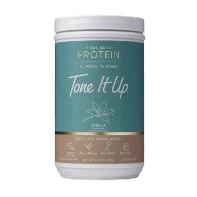 Tone It Up Plant-Based Protein Powder - Vanilla - 14.32oz