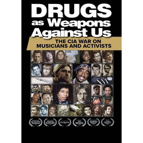 Drugs as Weapons Against Us: The CIA War on Musicians and Activists (DVD) - image 1 of 1