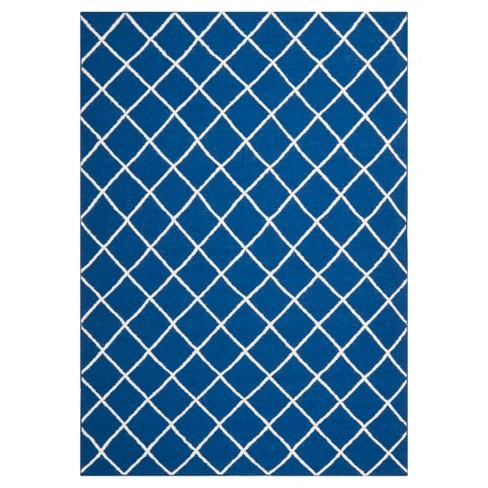 Brant Flatweave Rug - Dark Blue (9'X12') - Safavieh® - image 1 of 2