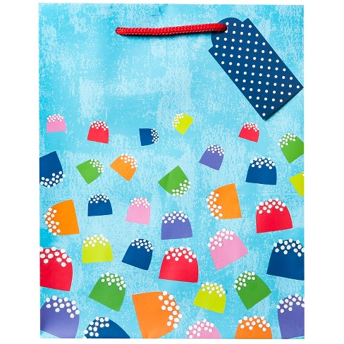 Gumdrop Gift Bag - Wondershop™ Blue - image 1 of 2