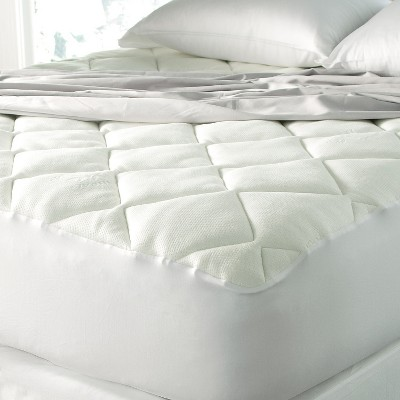 Cool Touch Mattress Pad Made with Rayon from Bamboo King)White - SPA Luxury