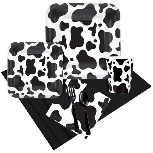 8ct Cow Print Party Pack - image 1 of 1