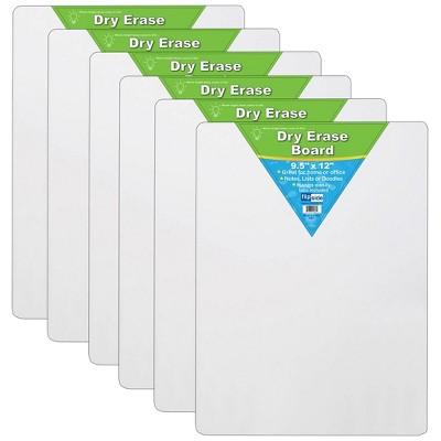 6pk Dry Erase Boards - Flipside