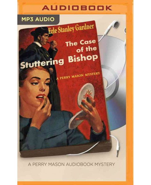 Case of the Stuttering Bishop (MP3-CD) (Erle Stanley Gardner) - image 1 of 1