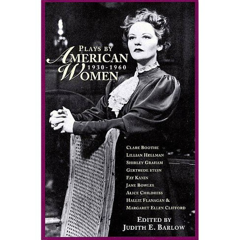 Plays by American Women - (Applause Books) (Paperback) - image 1 of 1