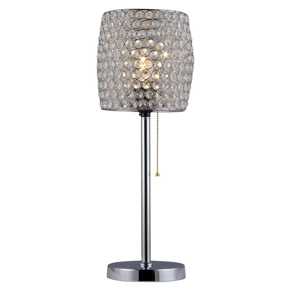 Table Lamp Warehouse Of Tiffany (Lamp Only), Silver