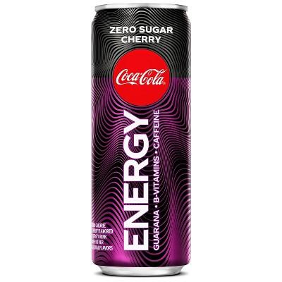 Coca-Cola Energy Zero Cherry - 12 fl oz Can