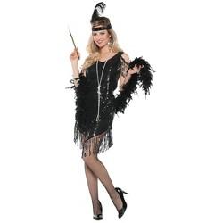 Women's Swingin' Flapper Halloween Costume M