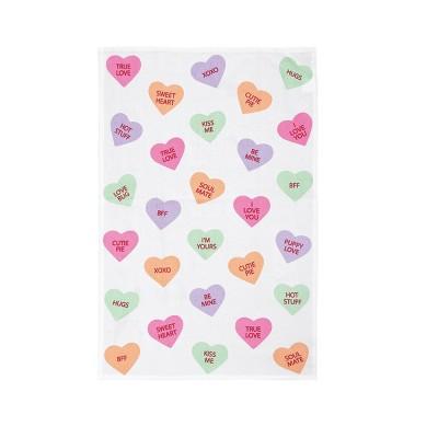 C&F Home Let's Talk Love Kitchen Towel