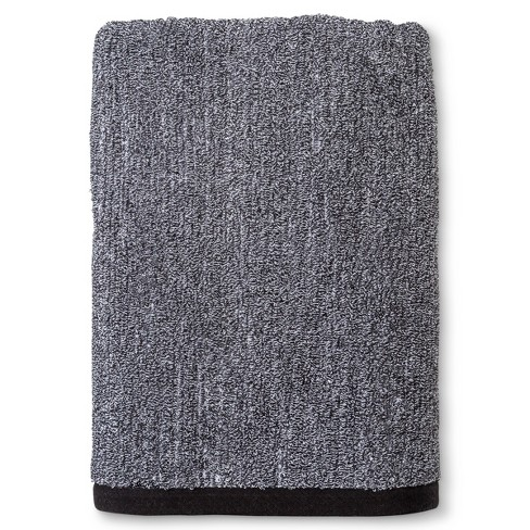 Textured Stripe Decorative Bath Towel Gray Project 62 Target