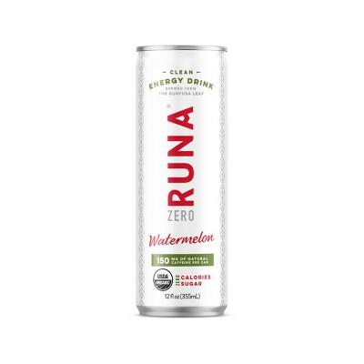 Energy & Sports Drinks: RUNA Zero