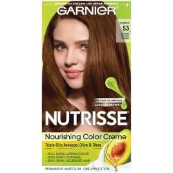 Garnier Nutrisse Nourishing Permanent Hair Color Creme - Dark Nude Brown