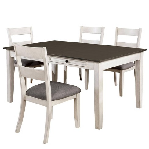 5pc Acker Dining Set Gray - HOMES: Inside + Out - image 1 of 4