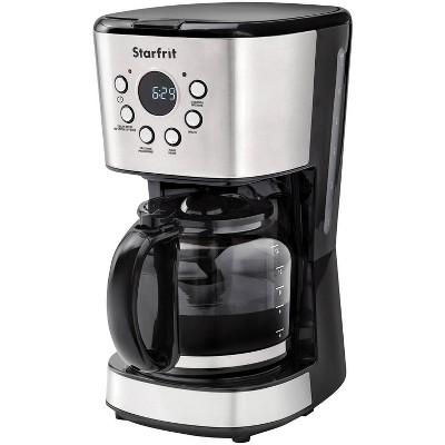 Starfrit 12-Cup Coffee Maker - Black