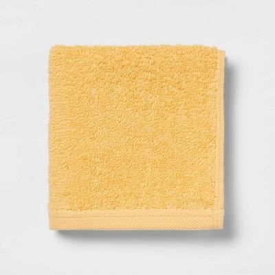 Everyday Washcloth Yellow - Room Essentials™