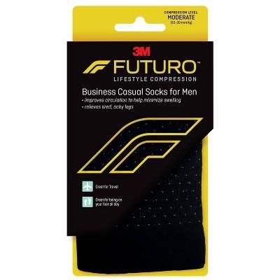 FUTURO Men's Business Casual Socks - Black