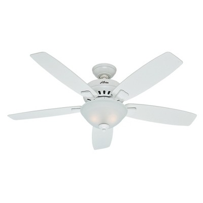52  Banyan Snow Lighted Ceiling White - Hunter Fan