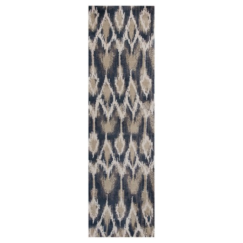 Allure Gray Horizon Tufted Rug - KAS - image 1 of 1