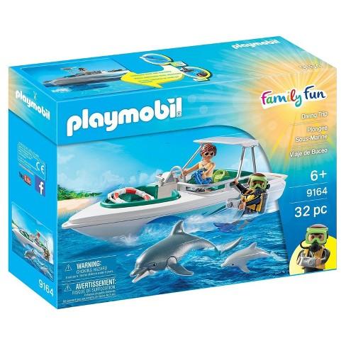 Playmobil Diving Trip Playset - image 1 of 2