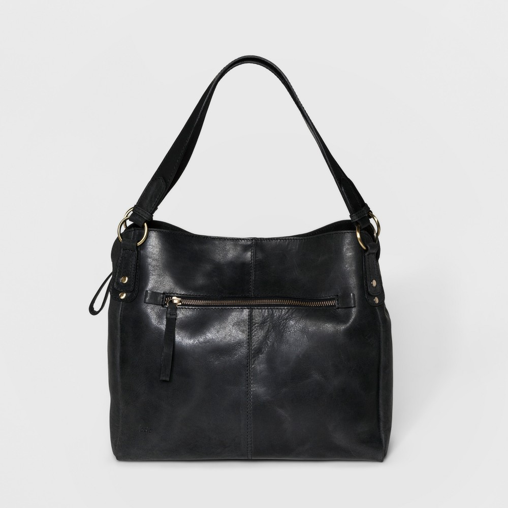 Women's Bolo Bronco Tote Bag - Black