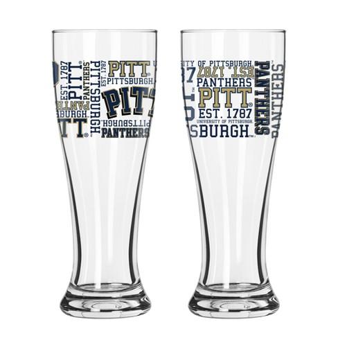 Pitt Panthers 2pk Spirit Pilsner Glasses Target