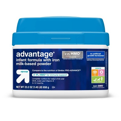 Advantage HMO Infant Formula with Iron Powder - 23.2oz - Up&Up™