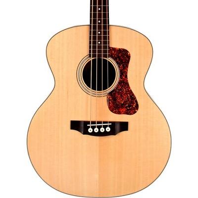 Guild B-240E Fretless Acoustic-Electric Bass Guitar Natural