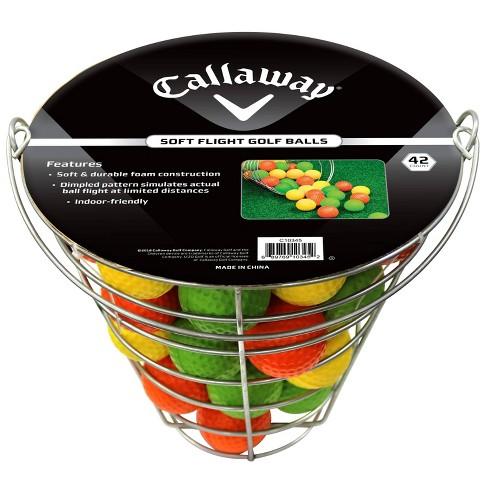Callaway Soft Flite Practice Ball Range Basket - Sliver - image 1 of 2