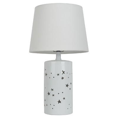 2-in-1- Starry Table Lamp White - Pillowfort™