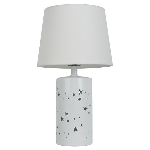 2-in-1- Starry Table Lamp Only White - Pillowfort™ - image 1 of 3