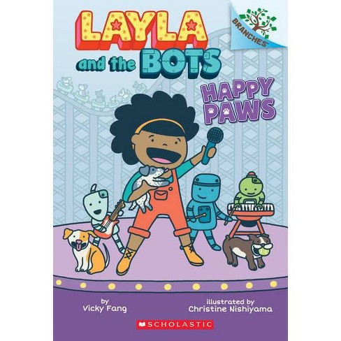 Happy Paws: A Branches Book (Layla and the Bots #1), 1 - by  Vicky Fang (Paperback) - image 1 of 1
