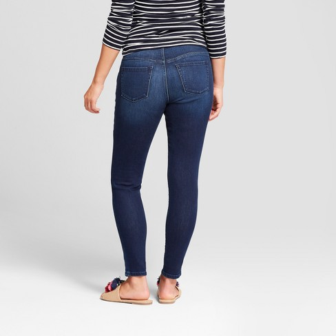 586a1394b7231 Maternity Crossover Panel Skinny Jeans - Isabel Maternity By Ingrid & Isabel™  Dark Wash : Target