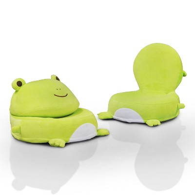 Charmant Dearie Youth Frog Chair Light Gray   IoHOMES