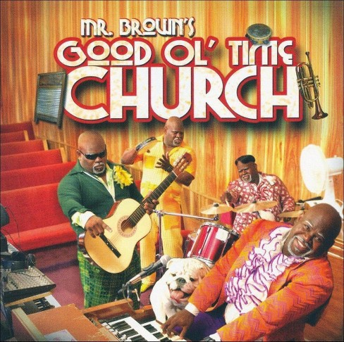David A. Mann - Mr. Brown's Good Ol Time Church (CD) - image 1 of 1