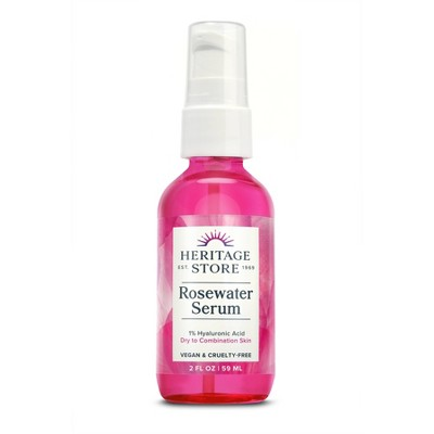 Heritage Store Rosewater Serum - 2 fl oz