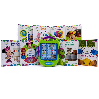 Disney Junior Baby My First Smart Pad 8 Book Box Set