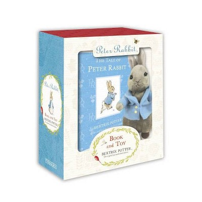 Peter Rabbit Book and Toy - by  Beatrix Potter (Mixed Media Product)