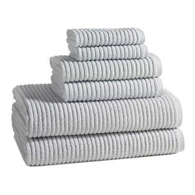 Urbane Towels Silver Quartz Set of 6 - Kassatex