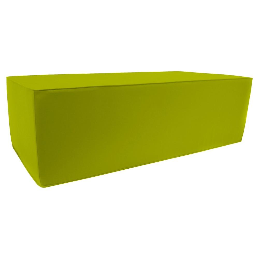 Jordan Patio Ottoman - Cool Green