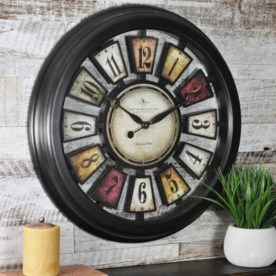 Numeral Plaques Wall Clock - FirsTime