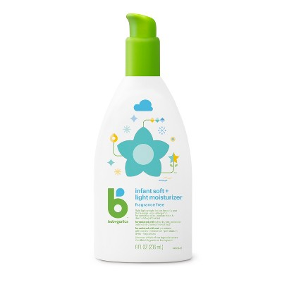 Babyganics Infant Soft & Light Moisturizer Baby Lotion - 8oz