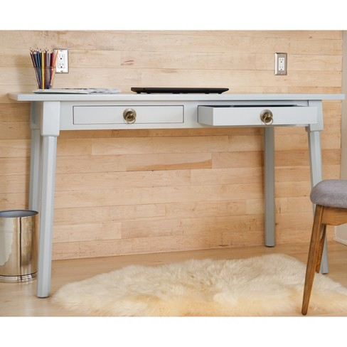 Dalton Writing Desk - Dove Grey - Haven Home - image 1 of 6