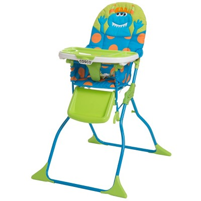 Cosco Simple Fold Deluxe High Chair - Blue