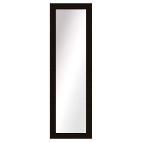 Floor Mirror PTM Images Black Espresso - image 1 of 1