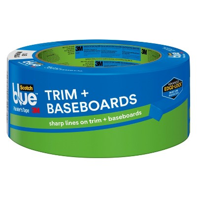 ScotchBlue™ Trim + Baseboards Painter's Tape with Edge-Lock™, 1.88 in x 45 yd