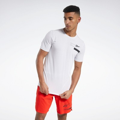 Reebok ACTIVCHILL+COTTON Tee Mens Athletic T-Shirts